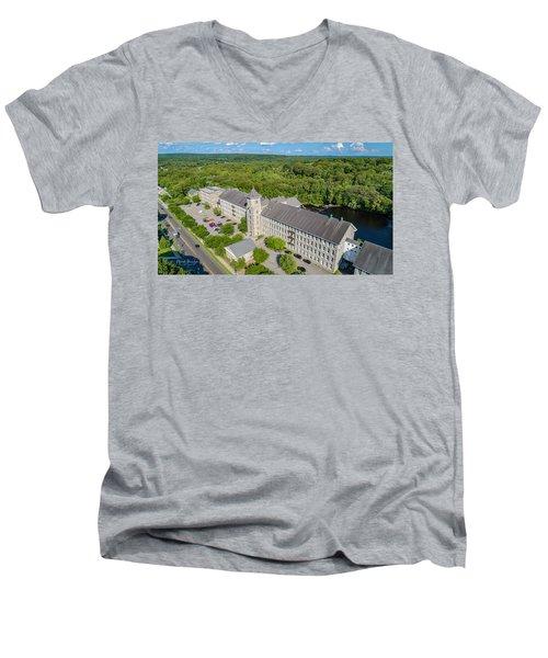 American Thread Mill #2 Men's V-Neck T-Shirt