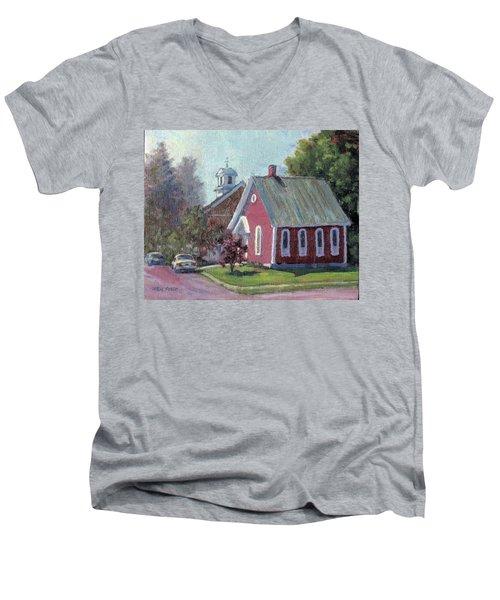 Amherst Chapel Men's V-Neck T-Shirt