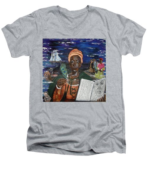 Aminata's Book Of Negroes Men's V-Neck T-Shirt