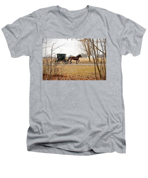 Amish Dream 1 Men's V-Neck T-Shirt