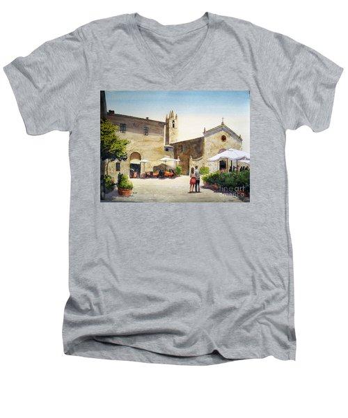 Amore Men's V-Neck T-Shirt