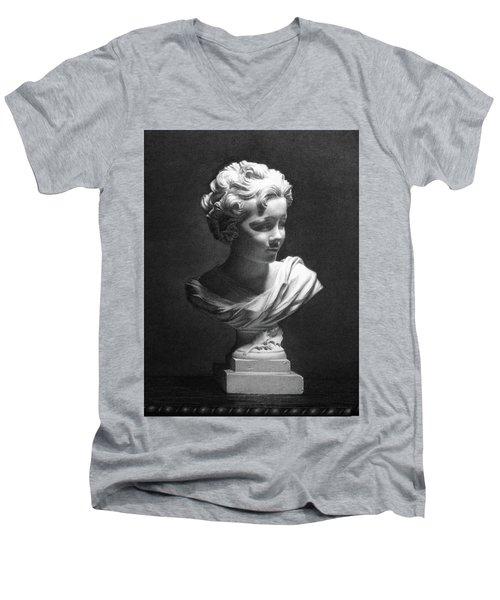 Amorofino Men's V-Neck T-Shirt