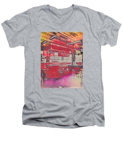Amusements  Men's V-Neck T-Shirt by Susan Stone