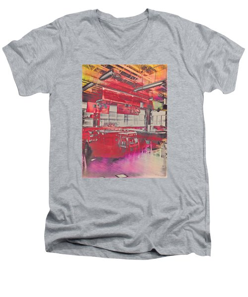 Amusements  Men's V-Neck T-Shirt