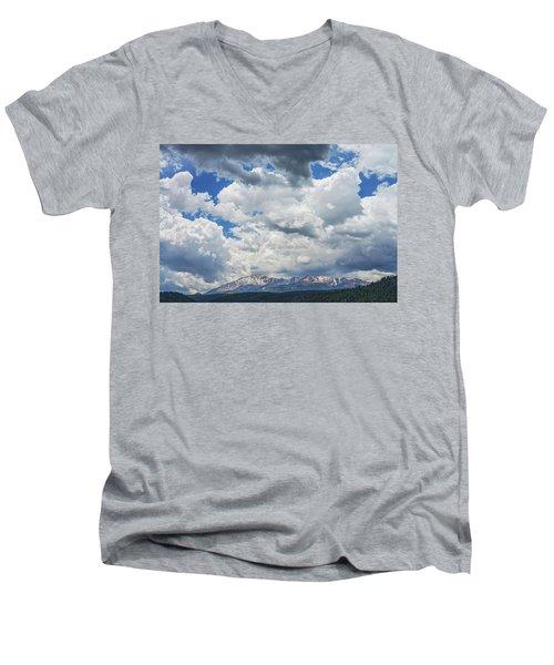 An Aureole Of Sanctity  Men's V-Neck T-Shirt