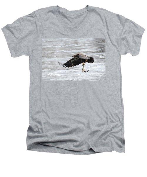 An Eagles Catch 10 Men's V-Neck T-Shirt