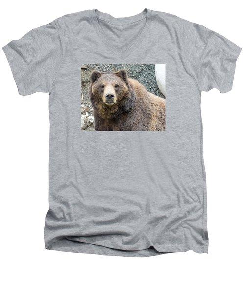 An Eye On You 2 Men's V-Neck T-Shirt by Harold Piskiel