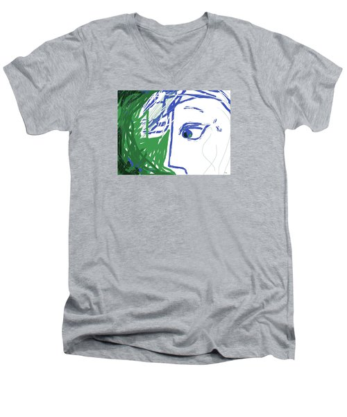 An Eye's View Men's V-Neck T-Shirt