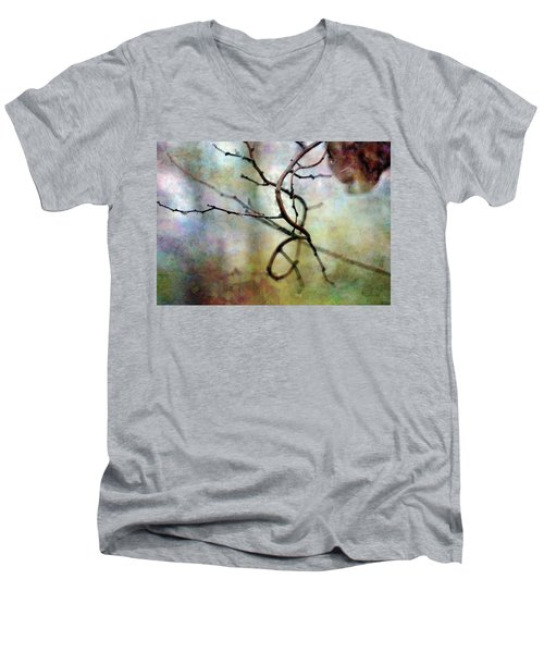 An Interesting Path 7923 Idp_2 Men's V-Neck T-Shirt