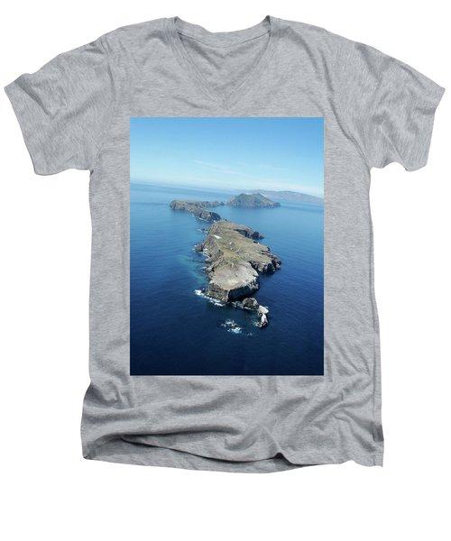 Anacapa Island Men's V-Neck T-Shirt