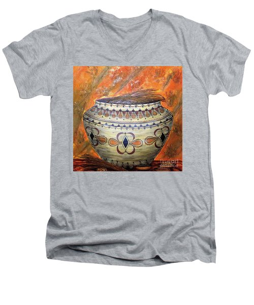 Ancestors Men's V-Neck T-Shirt by Kim Jones