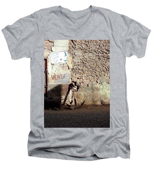 Anchor Cape Verde Men's V-Neck T-Shirt
