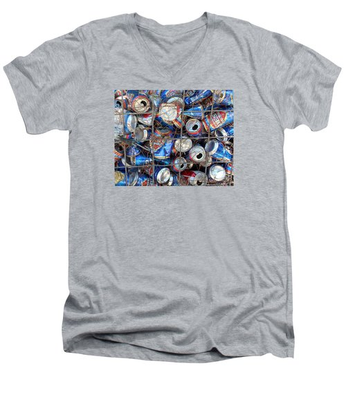 And Mouths To Feed Men's V-Neck T-Shirt by Joe Jake Pratt