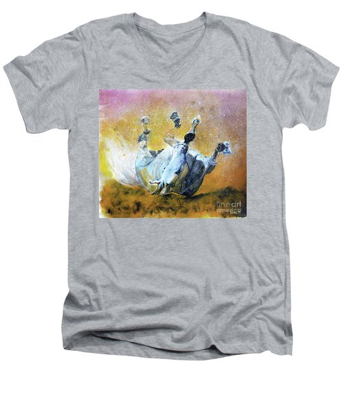 And The Fall Is Flight I Men's V-Neck T-Shirt