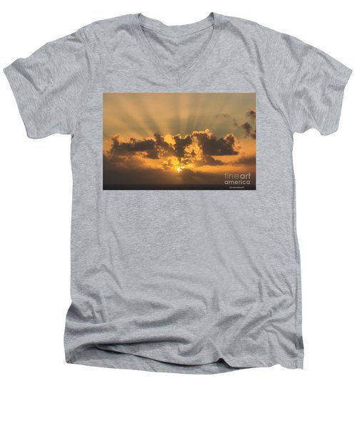 And Then There Was Day Five Men's V-Neck T-Shirt