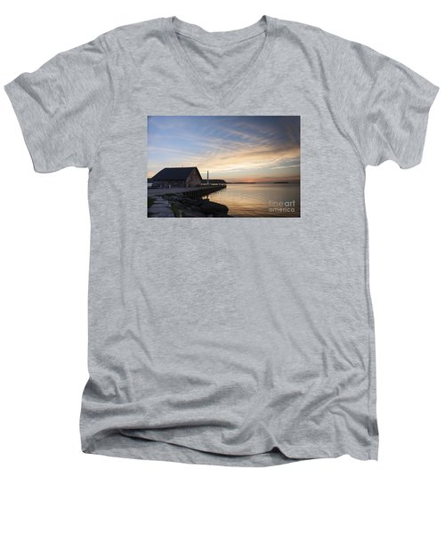 Anderson Dock Men's V-Neck T-Shirt