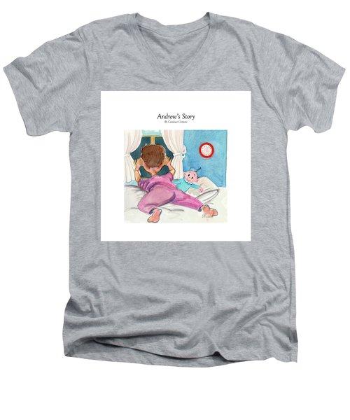 Andrew's Story Men's V-Neck T-Shirt