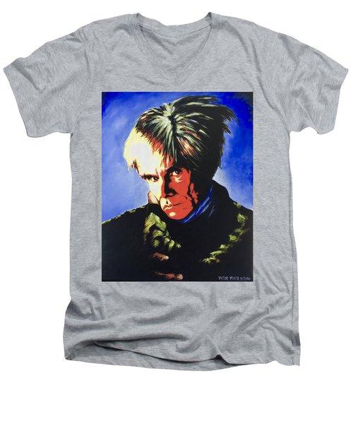 Andy Warhol Men's V-Neck T-Shirt