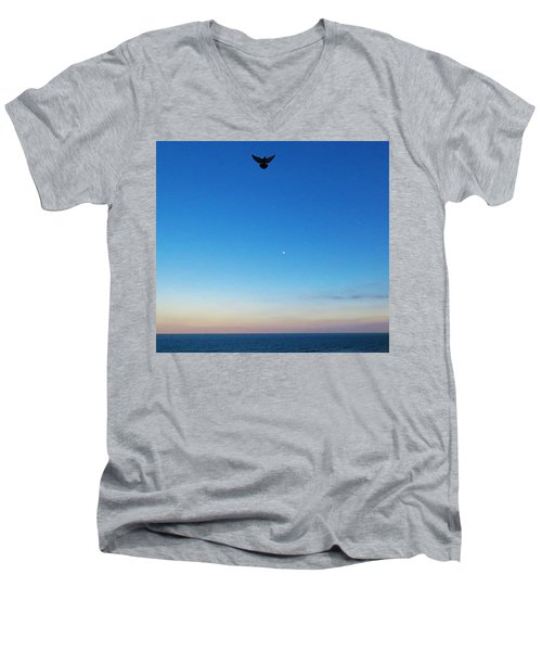 Angel Bird Men's V-Neck T-Shirt