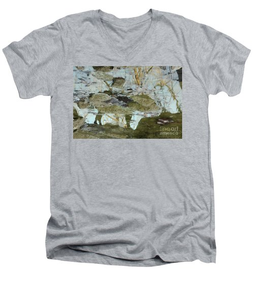 Angel Disguised As Coyote Men's V-Neck T-Shirt