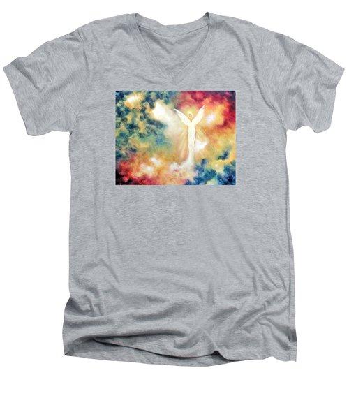 Angel Light Men's V-Neck T-Shirt