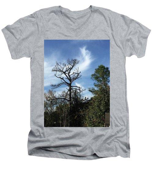 Angel Of Inspiration  Men's V-Neck T-Shirt