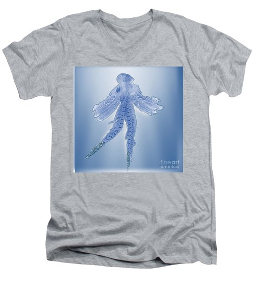 Angel Of Purity Men's V-Neck T-Shirt