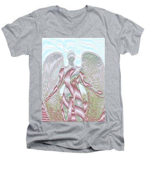 Angel Of The Field Men's V-Neck T-Shirt