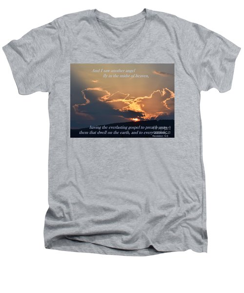 Angel Sky Men's V-Neck T-Shirt