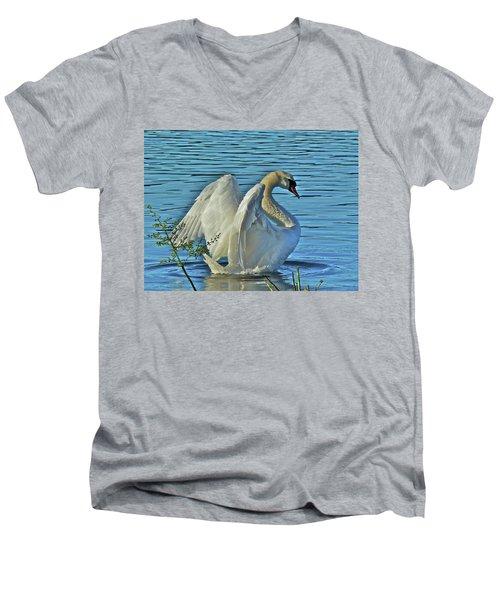 Angel Wings Men's V-Neck T-Shirt