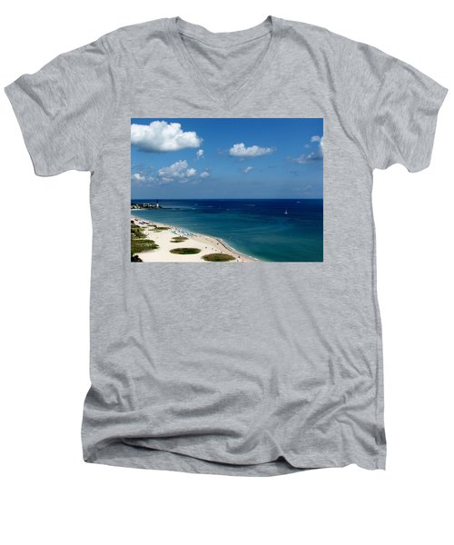 Angela's Getaway Men's V-Neck T-Shirt