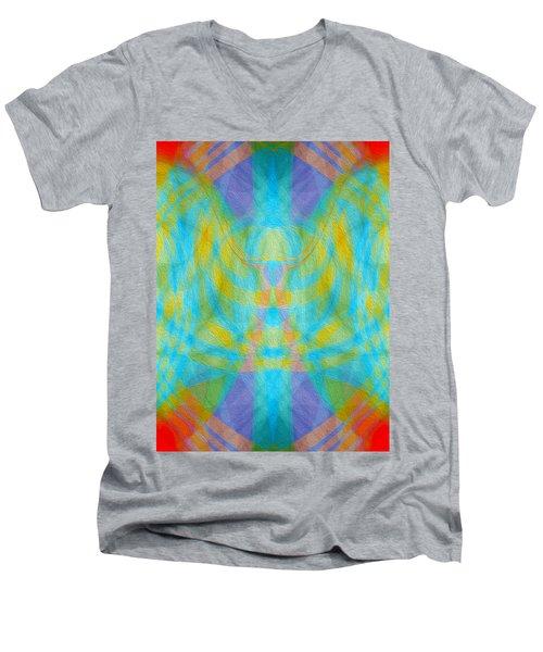 Angelic Presence Men's V-Neck T-Shirt