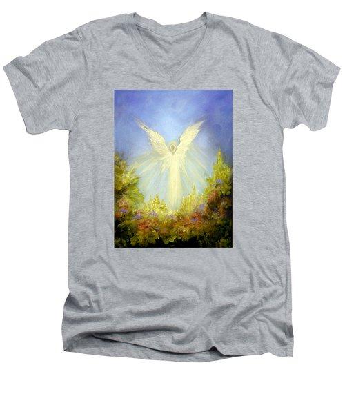 Angel's Garden Men's V-Neck T-Shirt