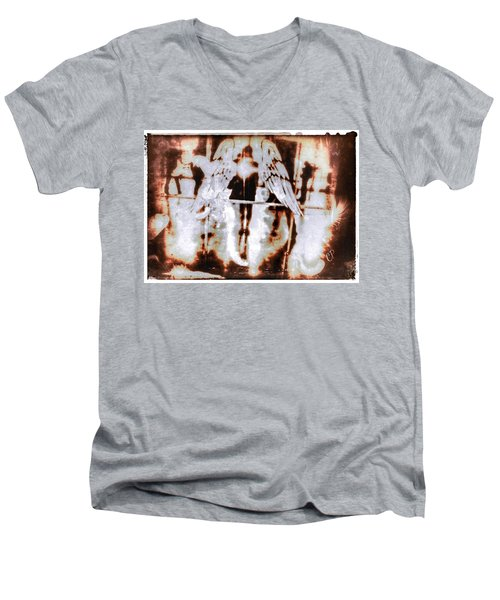Angels In The Mirror Men's V-Neck T-Shirt