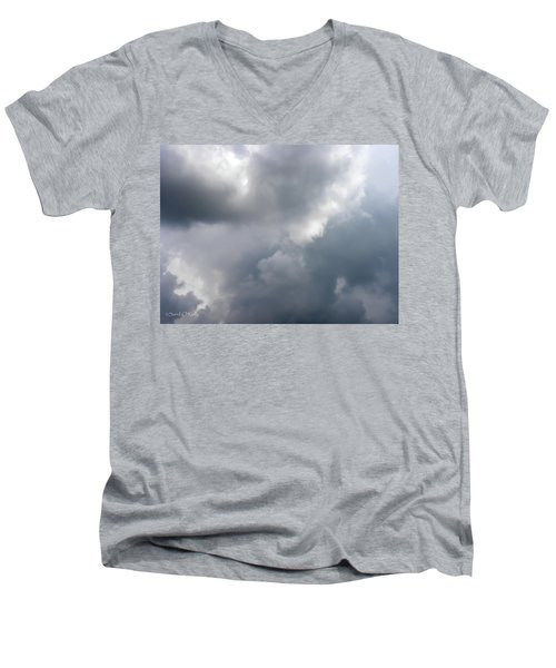 Men's V-Neck T-Shirt featuring the photograph Angels In The Sky by Sandi OReilly