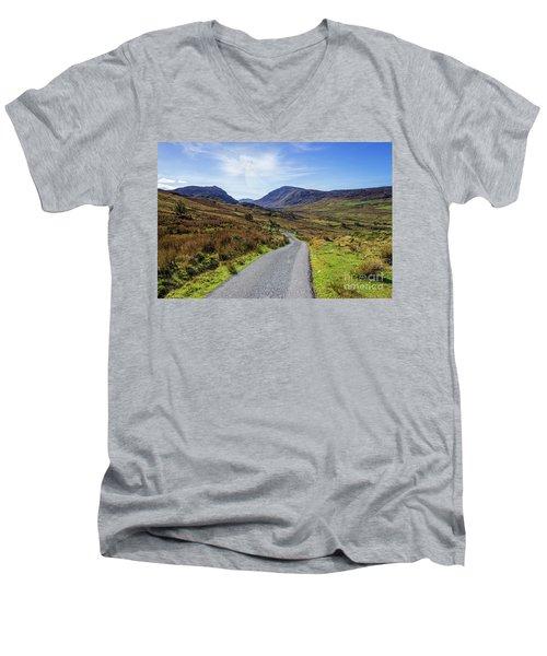 Angels Path Men's V-Neck T-Shirt by Ian Mitchell
