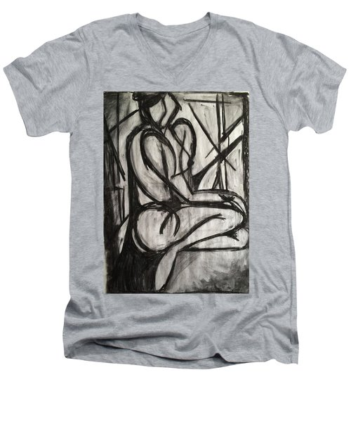 Angled Repose Men's V-Neck T-Shirt