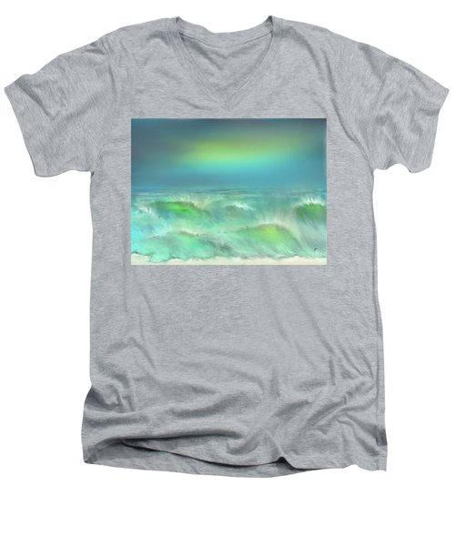 Angry Irma Men's V-Neck T-Shirt
