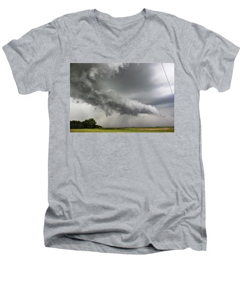 Angry Mode Men's V-Neck T-Shirt