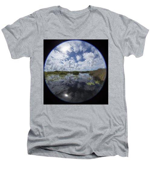 Anhinga Trail 86 Men's V-Neck T-Shirt
