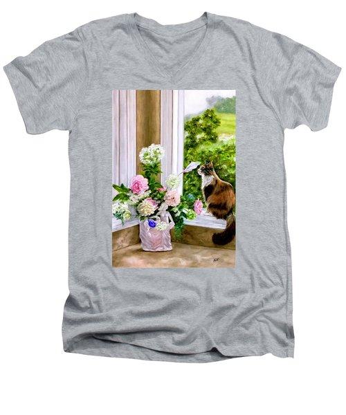 Anika Men's V-Neck T-Shirt
