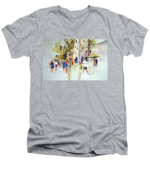 Animal Kingdom Men's V-Neck T-Shirt