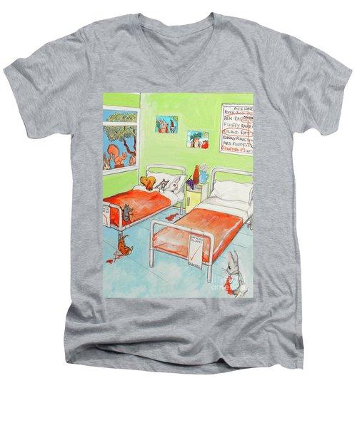 Animals Men's V-Neck T-Shirt