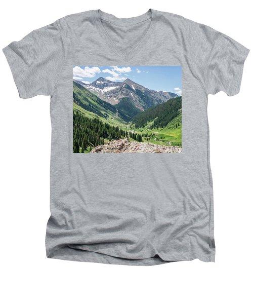 Animas Forks Men's V-Neck T-Shirt