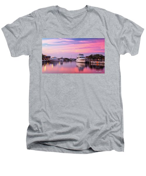 Annapolis Sunrise Men's V-Neck T-Shirt