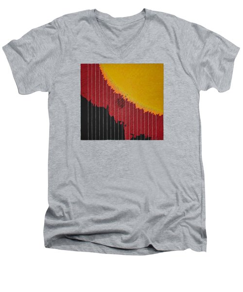 Anomaly At The Sun Men's V-Neck T-Shirt