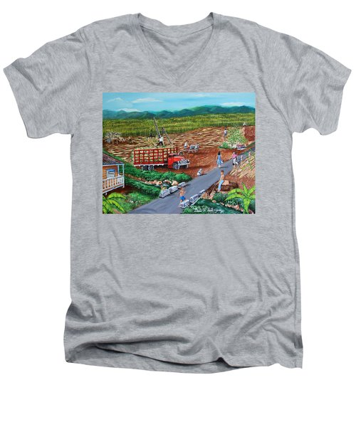 Anoranzas Men's V-Neck T-Shirt by Luis F Rodriguez
