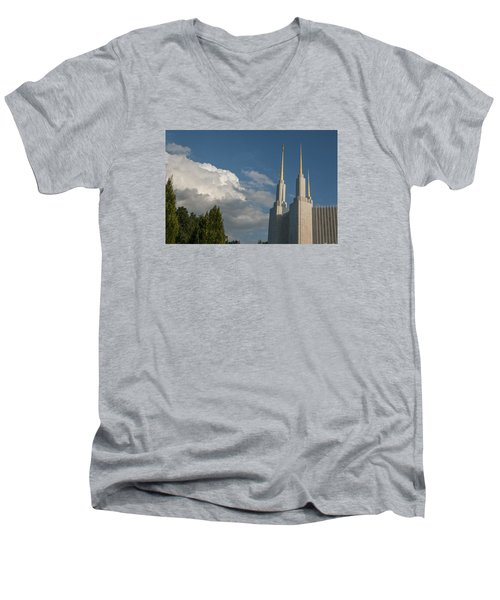 Another Beautiful Day Men's V-Neck T-Shirt