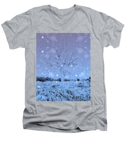 Men's V-Neck T-Shirt featuring the photograph Another Dimension  by Keith Elliott