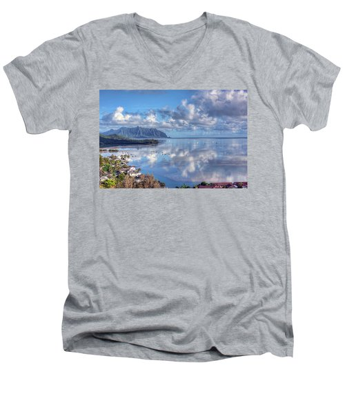 Another Kaneohe Morning Men's V-Neck T-Shirt